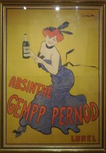 Auvers-sur-Oise: Musée de l'Absinthe: poster
