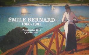 L'Orangerie: expo: Emile Bernard. poster