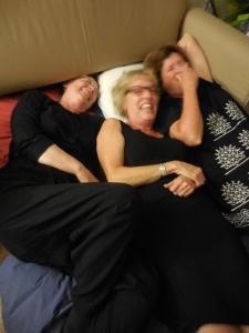 Kathleen, Astrid, Anne