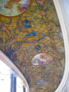 Petit Palais courtyard ceiling