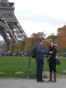 selfie Tour Eiffel